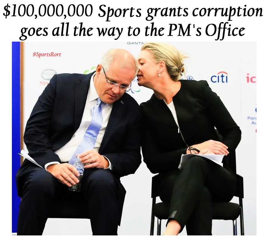 Dream Me Up Scotty – The Australian Sports Rorts Scandal – Part 2