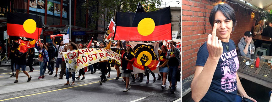 If you believe Indigenous culture ends, where colonial culture begins, you're a racist – Celeste Liddle